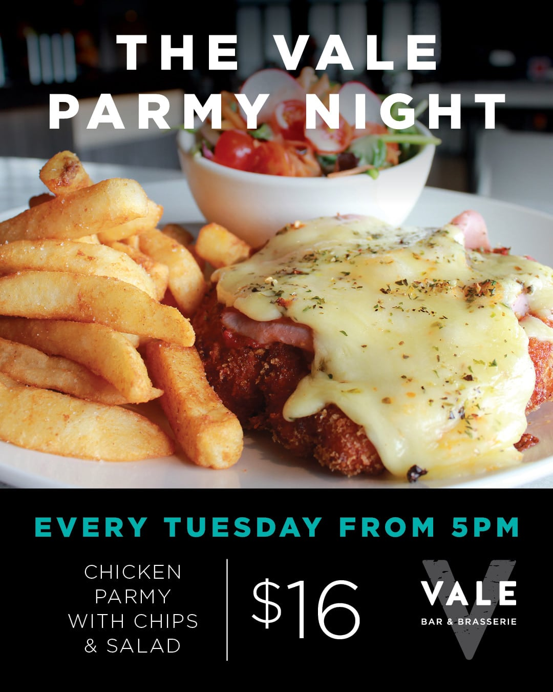 Tuesday Parmy Night