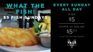 $5 Fish Sundays @ Yangebup | Western Australia | Australia