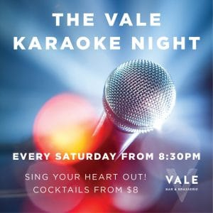 The Vale Karaoke Night
