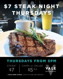 $7 STEAK NIGHT