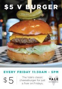$5 V Burger