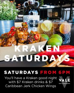 KRAKEN SATURDAYS
